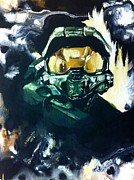 Wade Edwards Art - Master Chief by Wade Edwards
