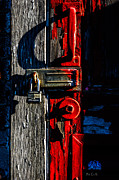 Industrial Metal Prints - Master Of The Old Red Barn Metal Print by Bob Orsillo