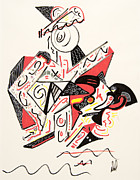 Abstract Bull Originals - Matador by Dennis Davis