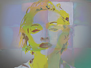 Madonna Digital Art - Material Girl by Brian Reaves