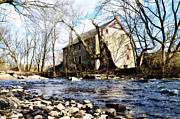 Mather Prints - Mather Mill Fort Washington Pa Print by Bill Cannon