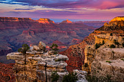 South Kaibab Trail Photos - Mather Point by Adam  Schallau