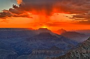 Mather Prints - Mather Point Sunrise Print by Adam Jewell