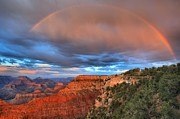 Mather Prints - Mather Sunset Rainbow Print by Adam Jewell