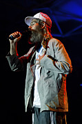 Beards Prints - Matisyahu live in concert 4  Print by The  Vault - Jennifer Rondinelli Reilly