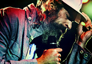 Beards Photo Framed Prints - Matisyahu live in concert 7 Framed Print by The  Vault