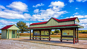 Red Roof Prints - Matson Station Print by Bill Tiepelman