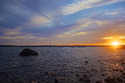 Mattapoisett Sunset Print by Amazing Jules