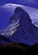 Matterhorn Prints - Matterhorn Print by Ron Jones