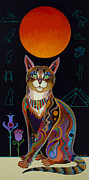 Cat Art Originals - Mau by Bob Coonts