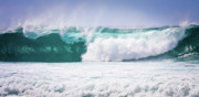 Huge Photo Prints - Maui Huge Wave Print by Denis Dore