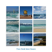 Hawaii Beaches Prints - Maui North Shore Hawaii Print by Sharon Mau