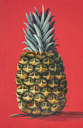 Maui Pineapple 2 Print by Darice Machel McGuire