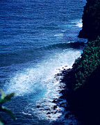 Tides Art - Maui Shoreline on the Way to Hana by J D Owen
