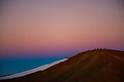 Pink Skies Prints - Mauna Kea Print by Peter Verdnik