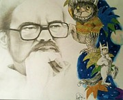 Things Drawings - Maurice Sendak by Madelyn Mershon