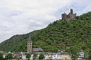Maus Castle In Germany Print by Oscar Gutierrez