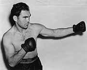 Famous Boxer Framed Prints - Max Schmeling 1938 Framed Print by Mountain Dreams