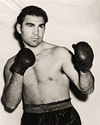 Hall Of Fame Framed Prints - Max Schmeling Framed Print by Pg Reproductions