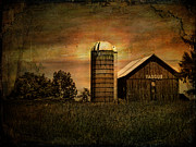 Pamela Phelps Framed Prints - Max Yasgurs Barn Framed Print by Pamela Phelps