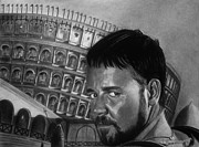 Slave Drawings - Maximus by Vishvesh Tadsare