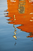 Penn Cove Prints - May Reflects Red Print by Tom Trimbath