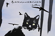 Feline Digital Art - May the Cat Eat You by Bill Cannon