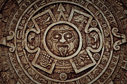 Precise Prints - Mayan Calendar Print by Brandon Bourdages