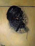 Hockey Painting Metal Prints - Maybe Next Year Metal Print by Deb Putnam