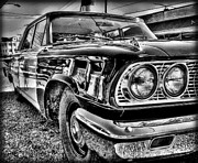 Police Cruisers Digital Art - Mayberrys Finest by Victor Montgomery