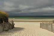 Storm Clouds Cape Cod Metal Prints - Mayflower Beach Storm Metal Print by Amazing Jules
