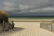Mayflower Beach Storm Print by Amazing Jules
