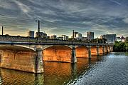 Richmond Virginia Prints - Mayo Bridge Print by Tim Wilson