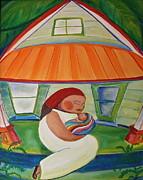 May's Baby Print by Teresa Hutto