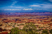 Mesas Photo Prints - Maze n Mountains a room with a view Print by Scotts Scapes