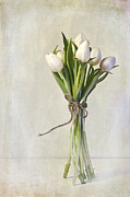 Flower Still Life Metal Prints - Mazzo Metal Print by Priska Wettstein