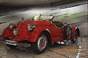 Antique Automobiles Photos - Mb 11 by Tom Griffithe