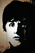 Rock Band Mixed Media Prints - Mc Cartney Uncovered Print by Gwyn Newcombe