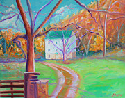 Grist Mill Paintings - Mc Donalds Mill by Todd Bandy