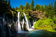 Scott Mcguire Photography Prints - McArthur Burney Falls Print by Scott McGuire