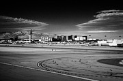 Air Travel Framed Prints - McCarran International airport Las Vegas Nevada USA Framed Print by Joe Fox