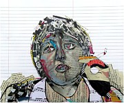Icons Mixed Media - Mccartney Uncut  by Brian Buckley