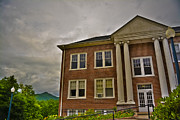 Western Carolina University Framed Prints - McConnell Hall at Mars Hill College Framed Print by Ryan Phillips