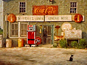 Old Signs Paintings - McCreadys by Michael Pickett