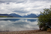 Apgar Prints - McDonald Lake - Apgar Print by June Hatleberg Photography