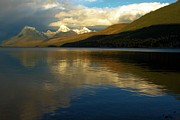 Lake Mcdonald Photos - McDonald Sunset by Adam Jewell