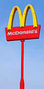 Mcdonalds Prints - McDonalds - Painterly - v1 Print by Wingsdomain Art and Photography
