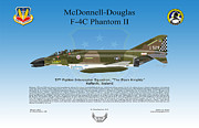 Phantom Digital Art - McDonnell Douglas F-4C Phantom II by Arthur Eggers