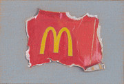 Mcdonalds Drawings - McGarbage 2.0 by Liam Harper