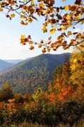 Autumn Scene Prints - McGuire Mountain Overlook Print by Thomas R Fletcher